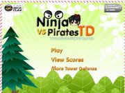 Ninjas VS Pirates TD