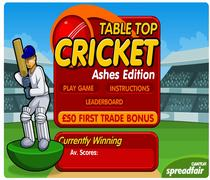 Table Top Cricket